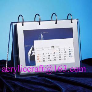 Wholesale 2015 desktop acrylic brochure holder / acrylic calendar holder from china suppliers