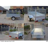 Quality Galvanized/Power Coated Cage Trailer for sale
