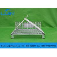 Wholesale Foldable Galvanized Industrial Storage Cage , Steel Structure Metal Storage Cage from china suppliers