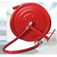 Wholesale Red Fire Hose Reel And Cabinet Automatic / Manual Swinging Fire Fighting Hose Reel from china suppliers