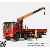 Wholesale Custermizing 8x4 116 ton truck mounted crane SQ16S5 400 Kn.m at 2.5 m crane truck high quality on sale App:8615271357675 from china suppliers