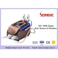 Wholesale Portable SHR IPL Hair Removal Machine , Skin Rejuvenation Machine with Double Handle from china suppliers