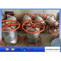 Wholesale 300KN Breaking Load Anti Twist Wire Rope , Hot Dip Galvanised Steel Wire Rope from china suppliers