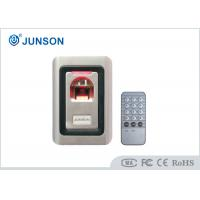 Quality 500DPI Security Standalone Fingerprint Access Control Built In PIR for sale