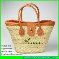 Wholesale LUDA 2016 new handmade cornhusk shopper bag fashion tuscan treasures tote bag from china suppliers