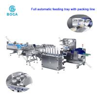 China Full Automatic Moon Cake Food Packaging Line / Horizontal Packing Machine on sale