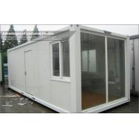 Wholesale Standard 20 foot Modular Glass Prefab Homes For Office / Living , Safe and Durable from china suppliers