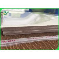 Wholesale Gray chipboard sheets grey back paper board in 0.5mm 1.5mm 2mm 2.5mm 3mm from china suppliers