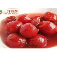Quality Fresh Red Hawthorn Tropical Canned Fruit In Natural Juice No Preservatives for sale