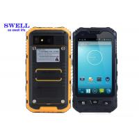 Wholesale Android 4.2.2 Rugged IP68 Smartphone With NXP544 NFC A8  yellow Black from china suppliers