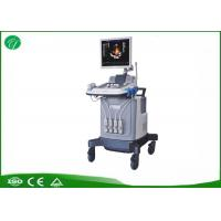 Wholesale Half Order Trolley Ultrasound Scanner , Color Ultrasound Machine Acoustic Lens Focus from china suppliers