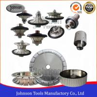 Wholesale Vacuum Brazed Diamond Tools for Cutting / Shaping / Curving Stone from china suppliers