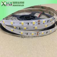Quality WW 2200k Constant current 60leds/m 2835 dc24v LED Strip 12VDC cc strip light with 3sdcm for sale