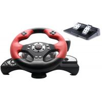 Wholesale Big 2 Axis 12 Button Ps3 / Ps2 Steering Wheel And Pedals With Auto Centering from china suppliers