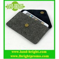 Wholesale polyester/wool felt phone case/phone pouch/phone bag from china suppliers