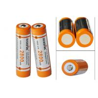 Wholesale High capacity 3.7V Rechargeable Lithium Ion Battery for Led torch from china suppliers