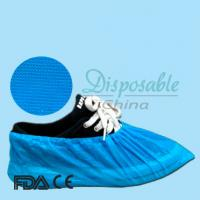 Wholesale Disposable elastic PE/CPE/Non-woven shoe cover from china suppliers