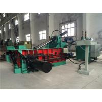 Quality Pushing - Out Discharging PLC Control Scrap Baling Machine Hydraulic Drive for sale