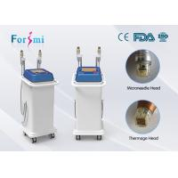 Wholesale electric microneedle fractional rf thermage face lift machine for sale facotry directly sale 2 hanldes from china suppliers