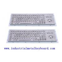 Buy cheap 89 Back Light Keys Industrial Keyboard With Mechanical trackball For Medical from wholesalers