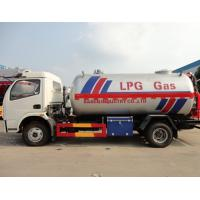 Wholesale high quality and best price DFAC 4*2 5.5CBM LPG propane transportation tanker truck for sale, lpg gas delivery truck from china suppliers