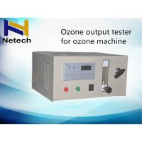Wholesale 0G - 200G/M3 Ozone Output Tester 0.1G/M3 2.5 Bar For Ozone Machine from china suppliers