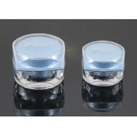Wholesale The blue cap of the head cap rotates the bottle Cream Jars from china suppliers