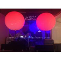 Wholesale Standing Inflatable Lighting Balloon PVC 1.5m Inflatable LED Balloon 15kg from china suppliers