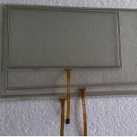 Buy cheap custom big size resistive touch screen, 15.6 inch 5 wire from wholesalers