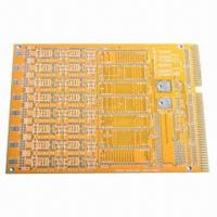Wholesale Yellow Solder Mask Double-sided PCB with FR4 Base from china suppliers