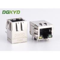 Wholesale KRJ-003YGZNL shielded cat5 rj45 ethernet connector with transformer Y/G LED from china suppliers