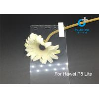 Wholesale Anti Oil Washable Huawei Screen Protector , Clear 9H Huawei P8 Lite Screen Guard from china suppliers