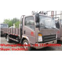 Buy cheap Customized SINO TRUK HOWO light duty 4*2 RHD 90hp cargo truck for Indonesia, Factory sale whole price cargo van truck from wholesalers