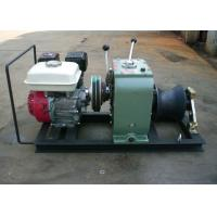 Quality High Efficiency Fast Petrol Cable Winch Puller Engine Powered Capstan 3 Ton for sale