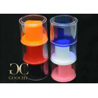 Wholesale Round Watch Packaging Box / Standing Watch Display Case Multicolor from china suppliers