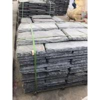Wholesale Black Slate Wall Top Stone,Natural Black Wall Caps,Outdoor Retaining Wall Tops,Landscaping Wall Cap Stone from china suppliers