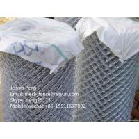 Wholesale High quality galvanized chain link mesh fence best price from china suppliers