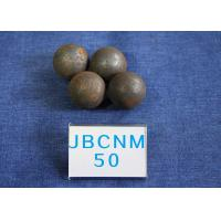 Wholesale High Precision Steel Balls For Ball Mill , Small Steel Ball Mill for Coal Production D50mm Surface Hardness 62-63HRC from china suppliers