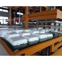 Wholesale Mechanical Arm PS Foam Food Container Production Line Water Absorption Styrofoam Plate Making Machine from china suppliers