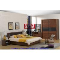 Wholesale 2016 New Nordic Design Furniture by Leather Upholstered lift storage bed with Sliding door Wardrobe and Drawer Chest from china suppliers