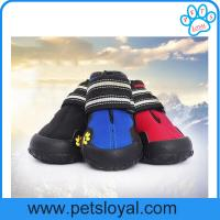 Quality Anti-Slip Waterproof Sole Medium Large Pet Dog Shoes China Factory for sale