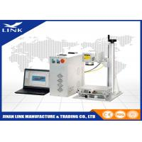 Wholesale Stainless Steel Aluminum Leather Portable Laser Marking Machine Maintenance Free Operation from china suppliers