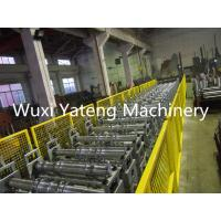 Wholesale Galvanized Steel Floor Deck Roll Forming Machine 28 Roller Station Customised Size from china suppliers