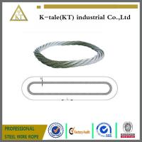 Wholesale Endless Round Grommet Wire Rope Slings Braided Loop Sling with Galvanized from china suppliers