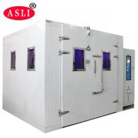 Wholesale Sunshine Simulation Uv / Xenon Aging Room Walk In Stability Chamber For Color Fastness Test from china suppliers
