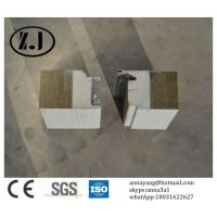 Quality Fireproof Rockwool Sandwich panel for Wall for sale