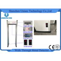 Wholesale CE/ISO certificated LED screen with High density material walk through metal detector from china suppliers