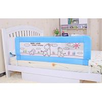 Wholesale Blue lovely Convertible Child Bed Rails 120cm with Modern Design from china suppliers
