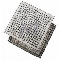 Square HPL Aluminum Raised Floor , Antistatic Removable Flooring