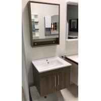 Wholesale Contemporary Plywood Square Sinks Bathroom Vanities Natural Wood Color from china suppliers